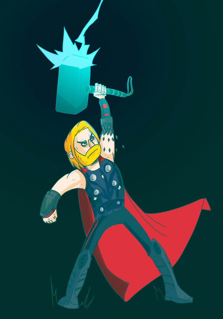 Avengers2012 Thor. by juandapo