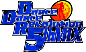 DanceDanceRevolution 5thMIX UHD Logo