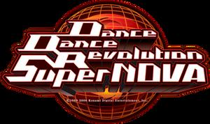 DanceDanceRevolution SuperNOVA UHD Logo