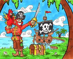 Pirate 3 by Spiral-Multimedia