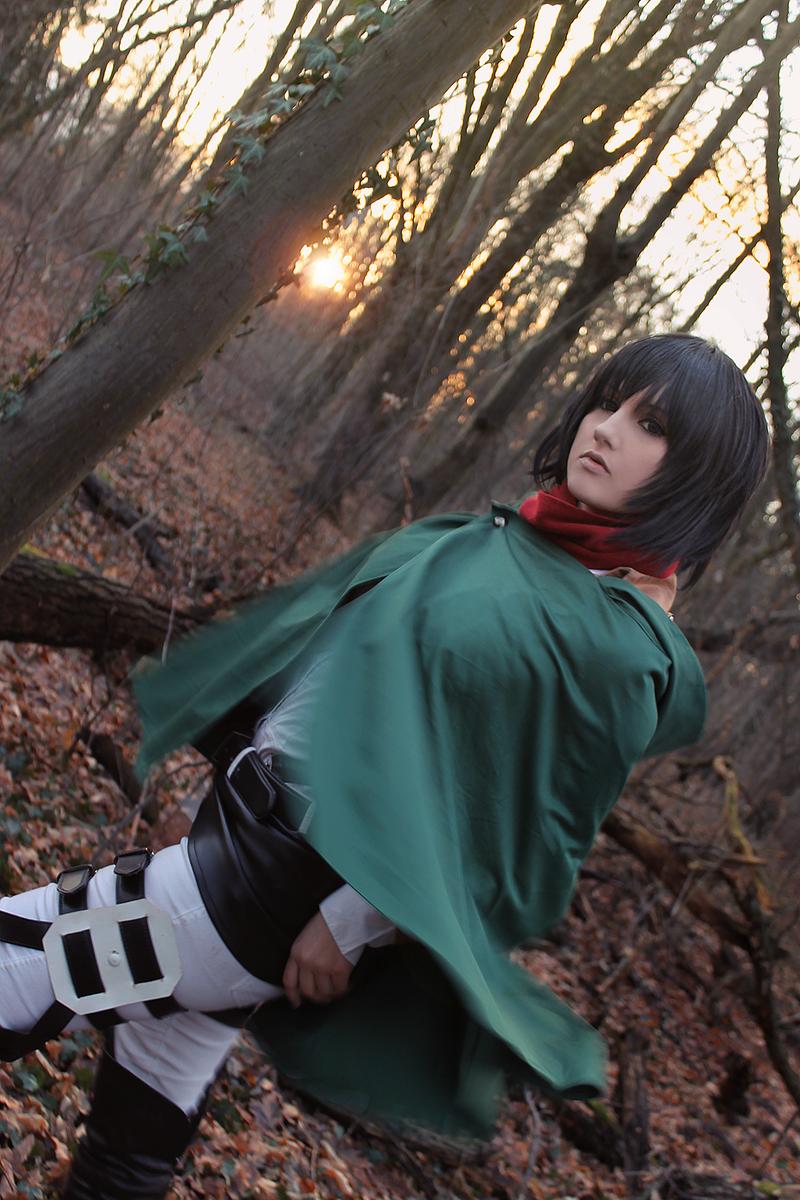 Mikasa Ackerman - blinded by hatred by Mizukishou