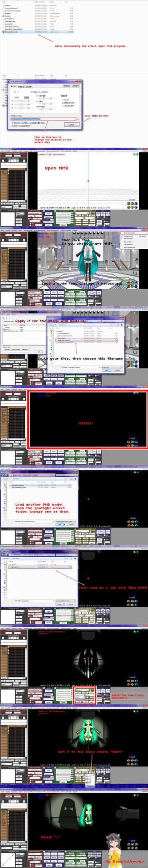 MMD How to use Spotlight MME by KoboshiUematsu