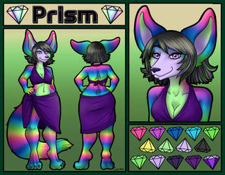 [Commission] Prism Ref Sheet by Technicandy