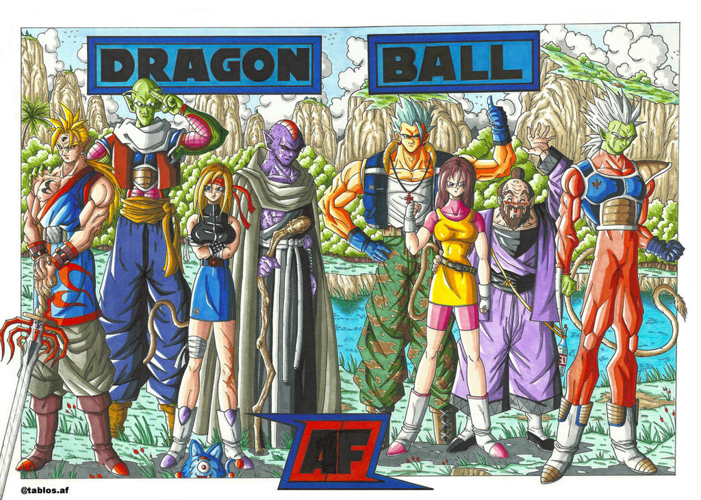 DRAGON BALL AF LEGENDS by tablosaf