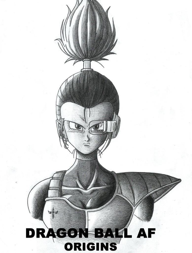 DBAF ORIGINS. Selinda, the renegade Saiyan. by tablosaf