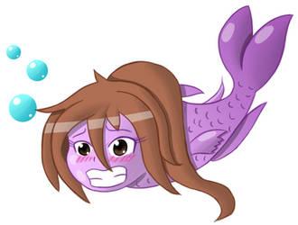 Eko as a fish. by Ekohime