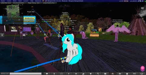 SL : Tara live in Second Life by knightnew