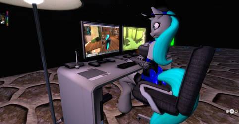 SL : Tara Furry in Second Life by knightnew