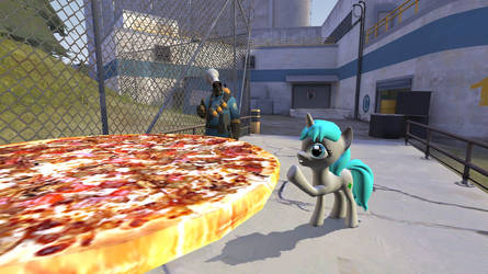 G's M : Extra large pizza by knightnew