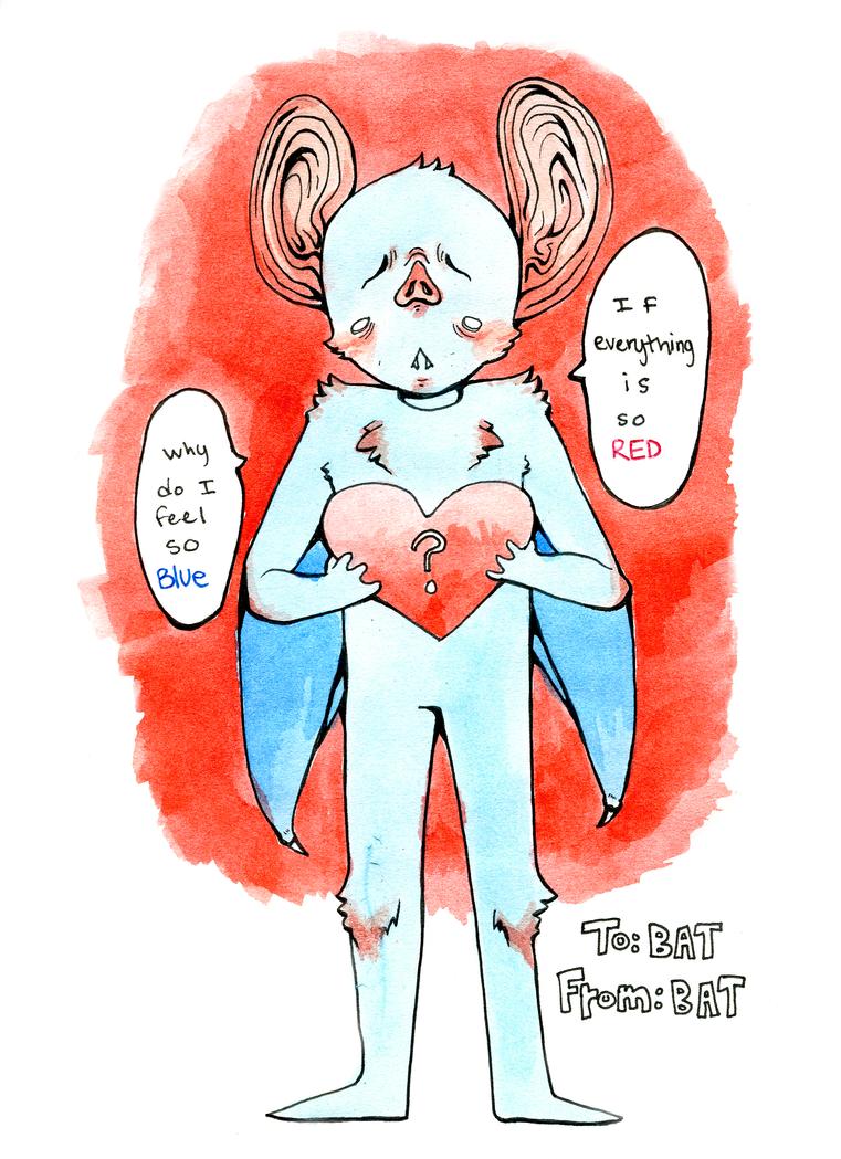 Breakup Bat by Fish-n-Flume