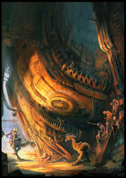 The Dump by MaxD-Art