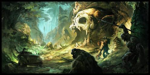 Jungle Track by MaxD-Art