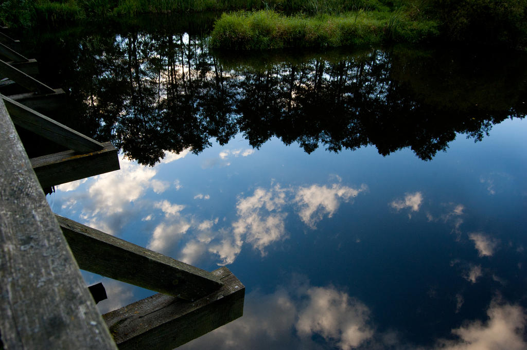 A sky in the water by Domichal