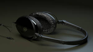 Headphones (Blender cycles) by TomWalks