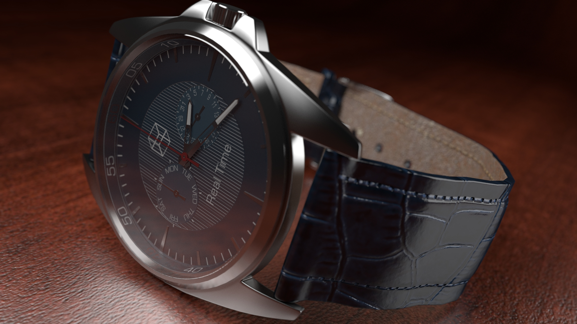 Watch  Montre (Blender 3D + cycles) by TomWalks on DeviantArt