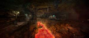 Down under the minecraft by TomWalks