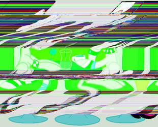 ''Glitch Art Attempt #1'' by DoctorBassDrop