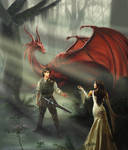 Richard, Kahlan, and Scarlet