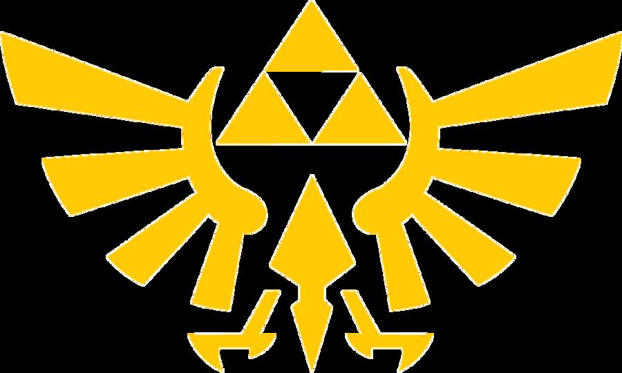 Zelda triforce eagle