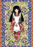 Kimono Girl by HANG-CHANG