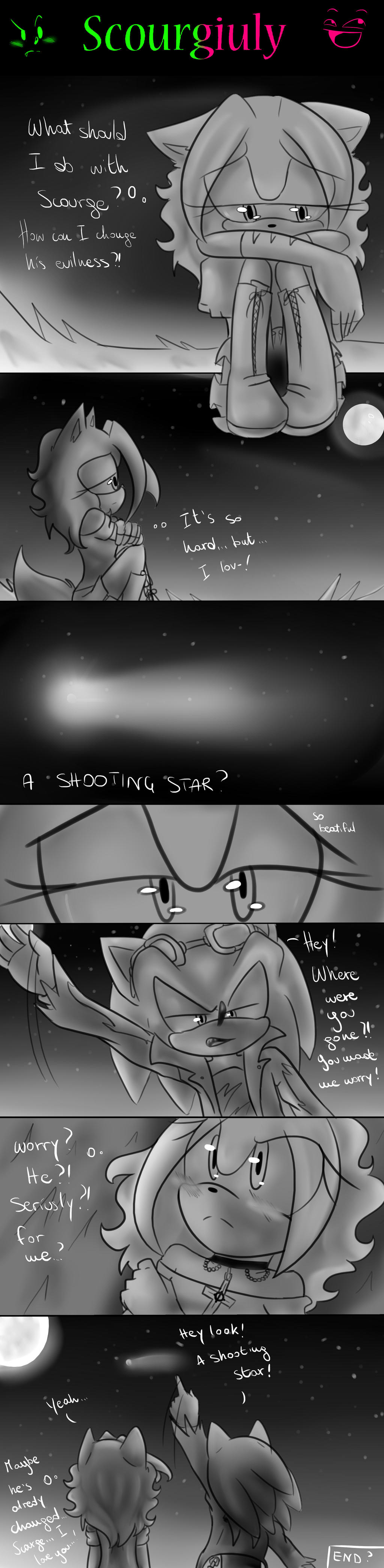 Scourgiuly comic : a Shooting star by GiulytheWolf