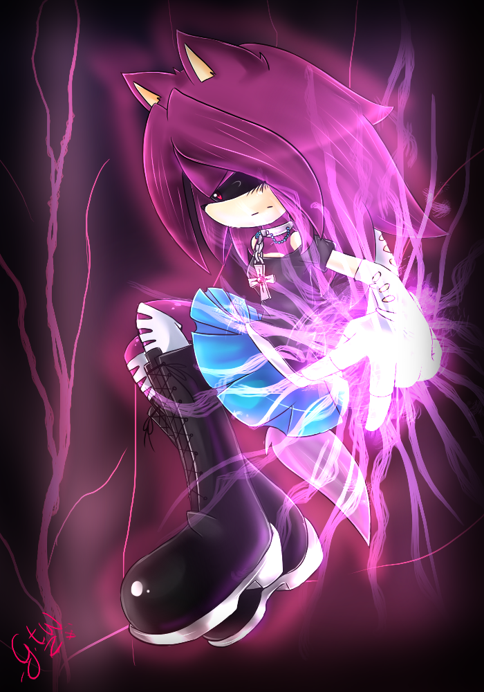'Cause I am lightning by GiulytheWolf