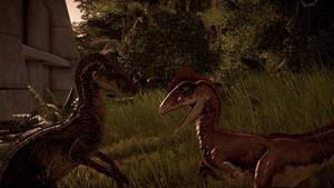 Velociraptor vs Deinonychus