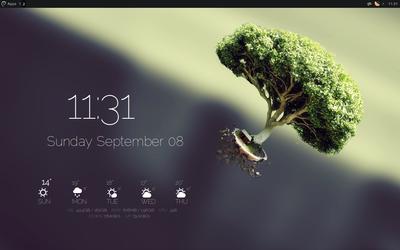 September screen is working it.