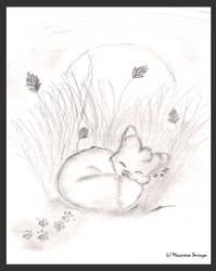 Waking up like a fox. by Serruya