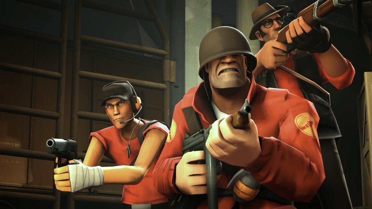 Commandos (SFM) by RAGEPANDDEMOMAN