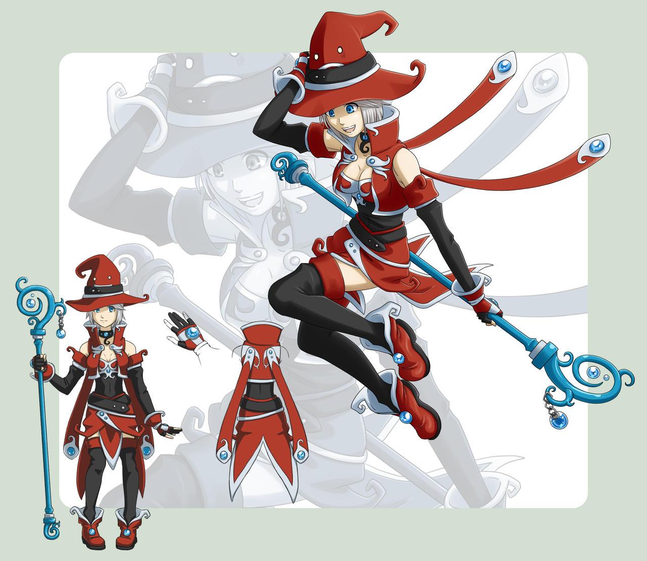 FEZ Sorceress by Trinamon