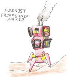 RA3 Paradox: Alkonost Walker by Graven-Imaging