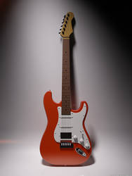 an electric guitar