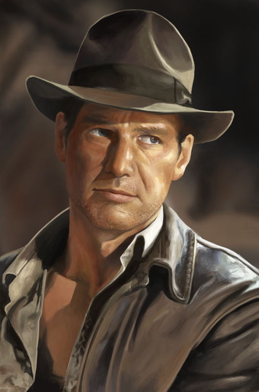 indiana jones harrison ford by myungsoolim on deviantart. Cars Review. Best American Auto & Cars Review