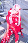 HaneAme cosplay Darling in the FranXX 02 cos