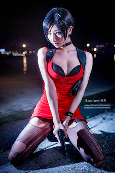 HaneAme cosplay Resident Evil ADA Wong cosplay