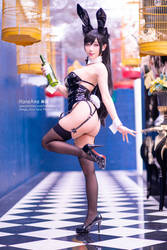 HaneAme cosplay Atago cosplay by HaneAme