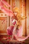HaneAme cosplay Who made me princess cosplay