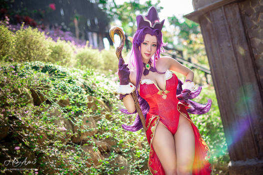 Trials of Mana Angela cosplay by HaneAme