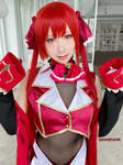 HOLOLIVE Houshou Marin cosplay by HaneAme