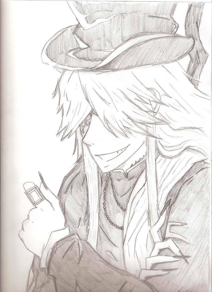 how to draw black butler