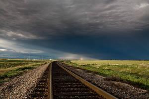 Rainbow on the Tracks by grahamsz