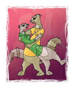Scruffy's Valentine Card