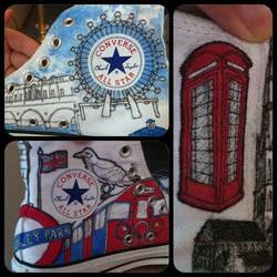Custom London Chucks WIP