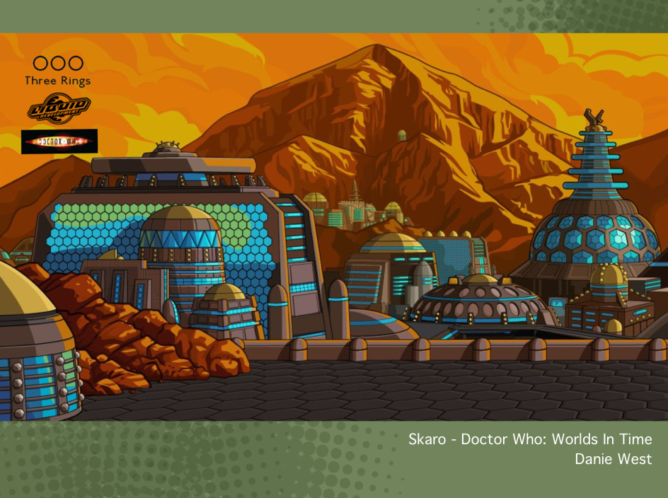 Skaro - Doctor Who: Worlds In Time by westernphilosopher