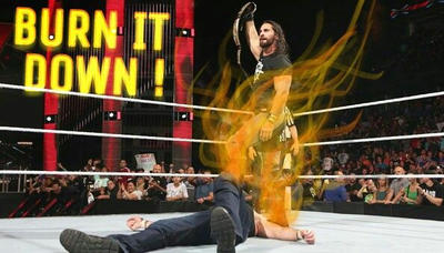 Seth Rollins vs Dean Ambrose by sparsenote