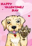 Valentines Day 2012 Puppy