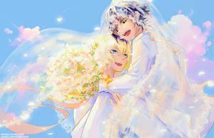 MikaYuu Wedding by yuerise