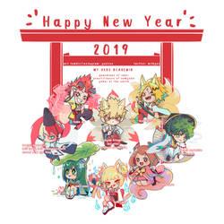 BNHA 2019 New Year