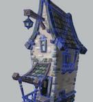 3d house in progress 2